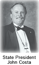 State President John Costa